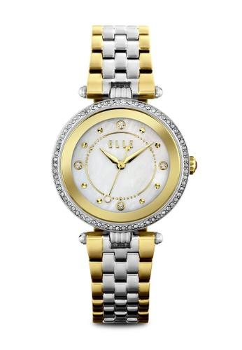 ELLE gold Fashion Ladies Watch EL900AC0RJYEMY_1