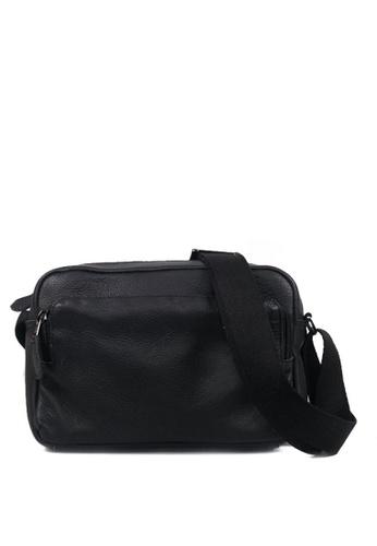 Costal Leather Bags black Drake Messenger Bag 04000AC6469D3FGS_1