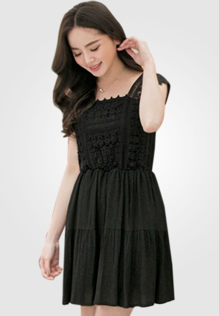 Dainty Love Tiered Dress