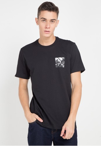 Converse black and multi Street View T-Shirt 04BABAA273F056GS_1