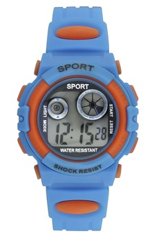Sport Shock Resist Unisex PVC Strap Watch K1409