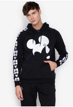 ee82c0f7dab16 Kappa black Street Hooded Jumper Brushed Fleece Disney 5673EAA9BEDB14GS 1
