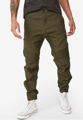 Cotton On 綠色 Urban Joggers 00EE4AA7A6C2AAGS_1