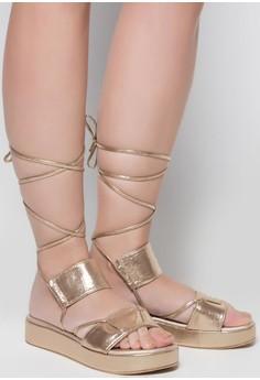 Hofie Wedge Sandals