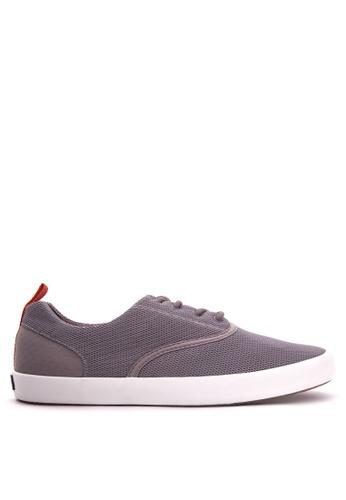 Sperry grey Flex Deck CVO Mesh Sneakers SP132SH35CEMPH_1