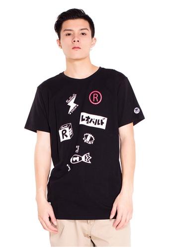 Reoparudo black RPD Space Explore T-shirt (Black) RE413AA0F9PYSG_1