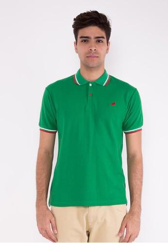 Green Holly Polo Shirt