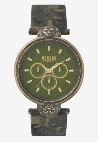 Versus green Versus Victoria Harbour Camo Strap Ladies Watch VEVSP330117 VE464AC0SBIVMY_1