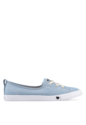 dfe957889ed Converse blue Chuck Taylor All Star Ballet Lace Sucker For Love Slip Ons  55E56SHD92C582GS_1