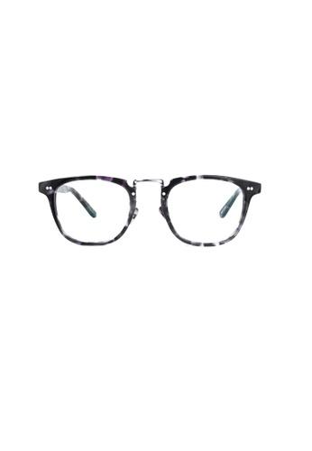 Kyfer's Eyewear & Essentials black Vintage Horn Rimmed Eyewear KY376AC01LOCSG_1