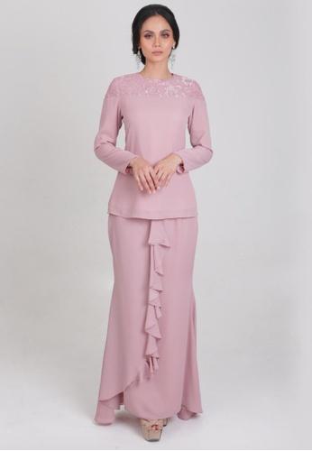 Aleesa Dusty Pink from HERMANAS in Pink
