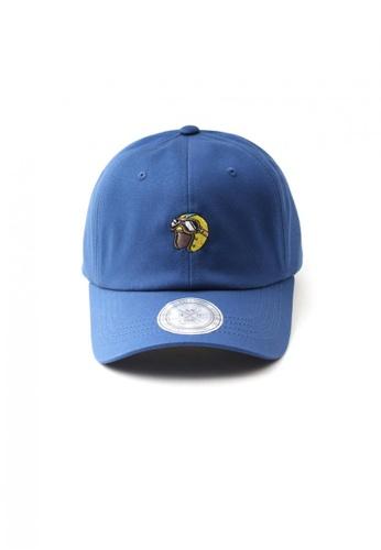 M-Wanted blue M. Retro X Pilot Helmet Baseball Cap MW173AC36OXRSG_1