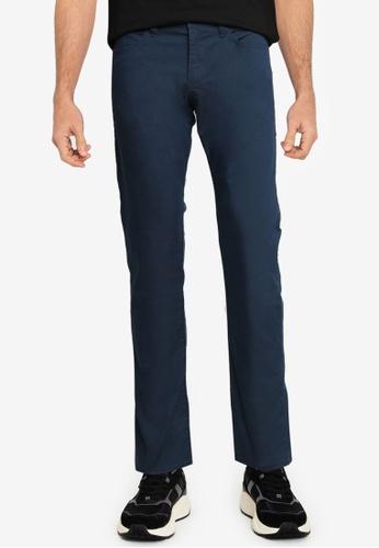 BOSS 藍色 Delaware Pants - BOSS Men 51657AA3D98130GS_1