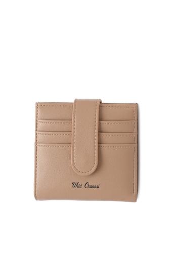 Wild Channel 褐色 Women's Bi Fold Wallet 5D993AC9225CE6GS_1