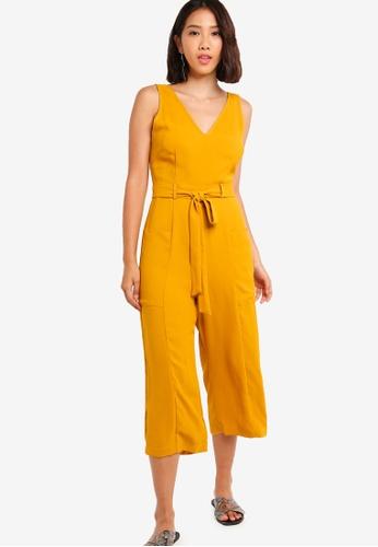 0094042dc210 Buy Something Borrowed Culottes Jumpsuit Online on ZALORA Singapore