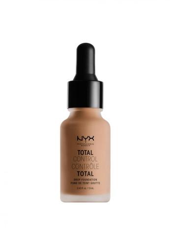 NYX Professional Makeup beige NYX Professional Makeup Total Control Drop Foundation - CAMEL 590ADBE19F7755GS_1