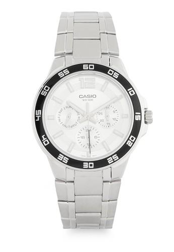 Casio silver Unisex Analog Watches MTP-1300D-7A1VDF CA347AC0V9K0ID_1