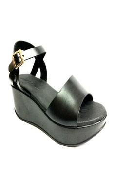 Denisse Leather Sandals