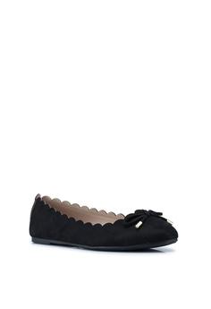 0d9ff302ea0 Dorothy Perkins Wide Fit Black Pia Ballerina Flats S  33.90. Sizes 3 4 5 6 7
