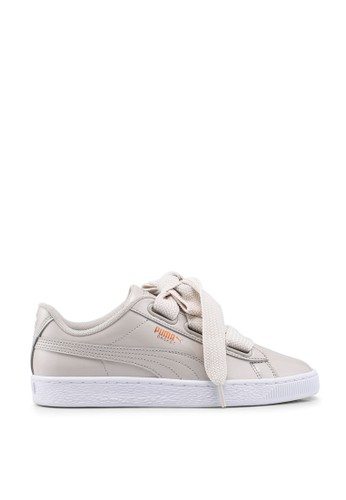 Sportstyle Prime Basket Heart Patent Sneakers