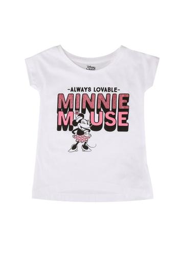 FOX Kids & Baby white Minnie Mouse Graphic Tee C3A1EKAA19B6DDGS_1