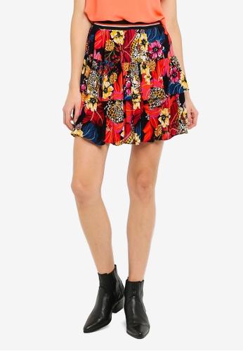 Vero Moda 黑色 Amsterdam 羅紋 Layer Short Skirt 36DCBAA65CC0F2GS_1