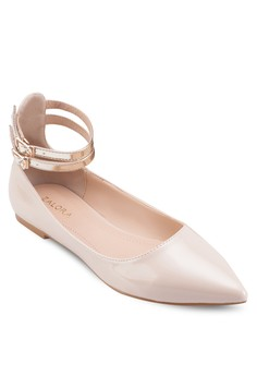 Double Ankle Straps Ballerinas