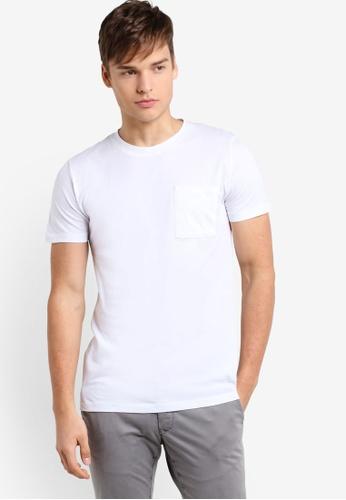 ESPRIT white Short Sleeve T-Shirt ES374AA22LJLMY_1