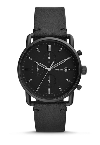 Fossil black The Commuter Chrono Chronograph Watch FS5504 79042AC0B9B503GS_1