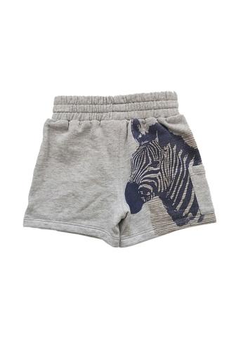 Vauva grey Vauva Kooala Boys Zebra Shorts - Grey 19555KA7EC3EFCGS_1