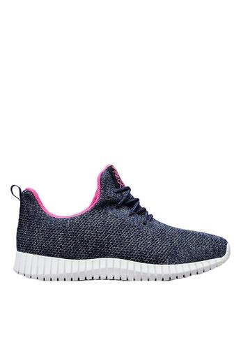 Life8 blue iStarKu X MRJ Co-Branded Elastic Sporty Shoes With double shoelaces -09701-Blue LI283SH0FVA3SG_1