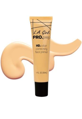 L.A Girl yellow LA GIRL Pro Correcting Face Primer Yellow 33DA6BEE56F18FGS_1