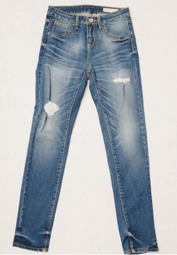 3SECOND blue Women Denim Pants 040320 75804AA9CF51D9GS_1