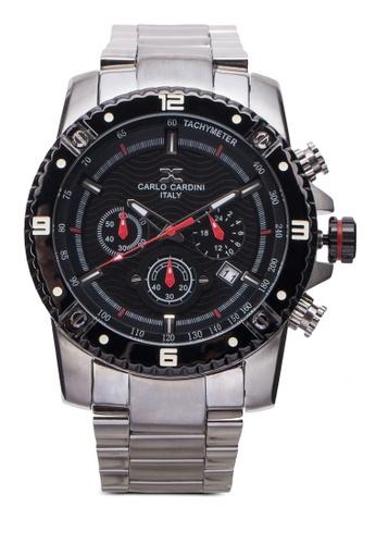Carlo Cardini silver Carlo Cardini Watch 4025G-SS-44 CA038AC04IYXMY_1