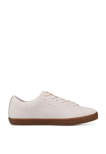 Timberland white Skape Park Leather Oxford Shoes 5BF73SH4891653GS_1