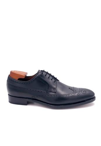 Giorostan black Men Formal Derby Shoes EBD23SH9C17FFAGS_1