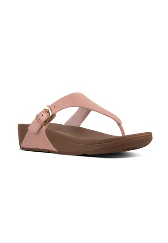f6744601b0b6 Buy Fitflop Fitflop The Skinny Glimmersuede (Apple Blossom) Online ...