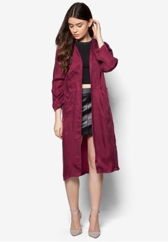 長半開襟睡esprit衣服目錄袍, 服飾, 服飾
