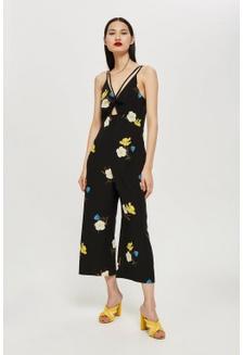 222dccdace3 Floral Print Jumpsuit 6D010AAF559083GS 1 TOPSHOP ...