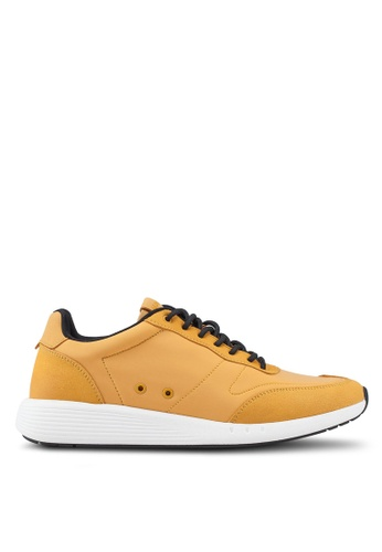 ALDO yellow Catalano Sneakers 0683BSH331D6B6GS_1