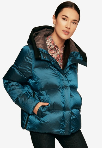 Aigle blue Nutodi Down Jacket A08FAAAFA6E09DGS_1
