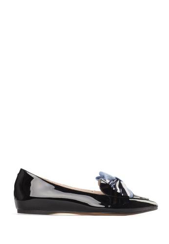 PAZZION black Sleek Loafers CF548SH5774B8BGS_1