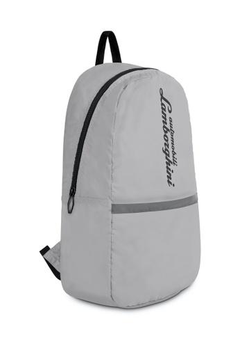 LAMBORGHINI grey Automobili Lamborghini® Galleria Grey Backpack 3E764AC5ABE434GS_1