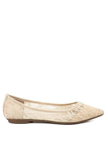 Twenty Eight Shoes beige Lace Ballerinas VL102810 79BE3SHE07FD25GS_1