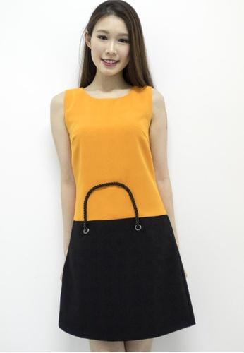 MOONRIVER orange Diana Bag Design Sheath Dress Brand: MOONRIVER MO886AA68XBVSG_1
