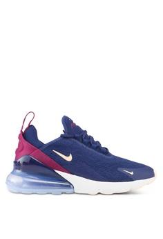 the best attitude a46b9 bd1a8 Nike blue Nike Air Max 270 Shoes 2726ASH9B8D67DGS 1