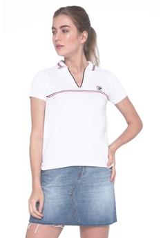 21fbb466 REGATTA white Regatta Sport Polo Shirt With Contrast Trim 3DED3AA921A798GS_1
