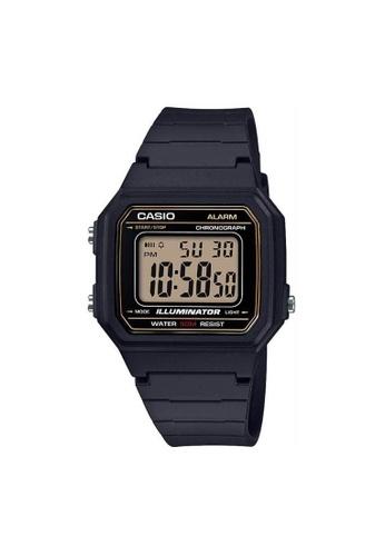 Casio black CASIO GENERAL W-217H-9AVDF UNISEX'S WATCH FFAFBAC34ECC6DGS_1