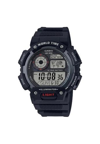 Casio black Casio Sports Digital Watch (AE-1400WH-1A) C9936ACD4E3294GS_1