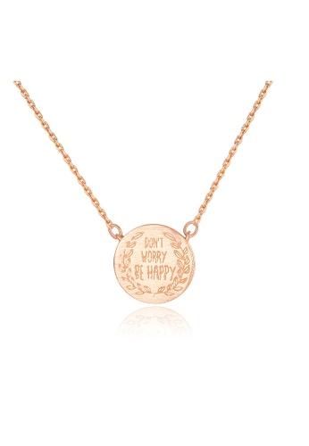 SUNRAIS silver Premium Silver S925 Silver Letter Necklace CFAF0AC912D4FFGS_1